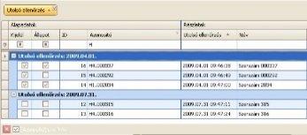 Mobil szerszám ellenőrző rendszer